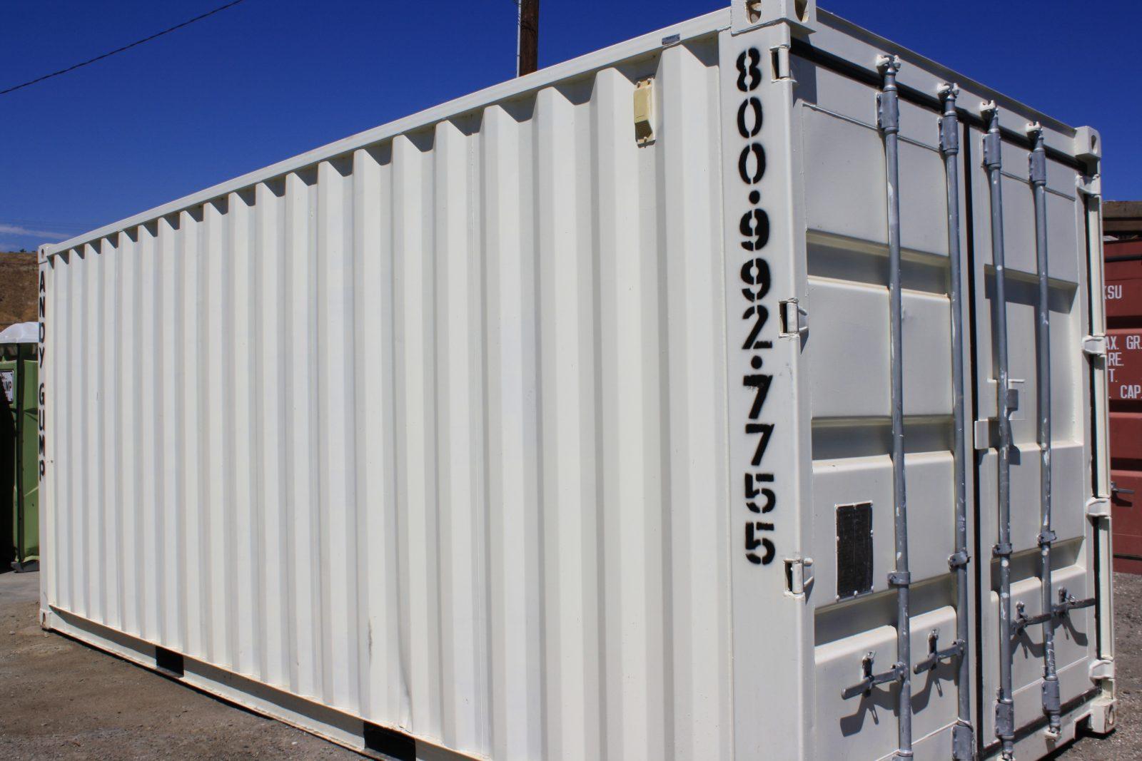 8x20 Storage Container