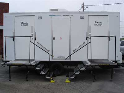 Shower Trailer Rental